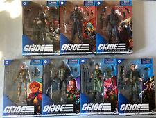 Lot Of 7 G I JOE Classified Series Zartan Cobra Infantry Cobra Commander & More