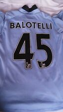 Maillot Football UMBRO BALOTELLI 45 Manchester City taille M