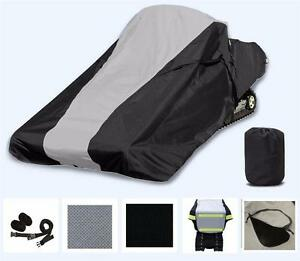 200 Denier Storage Cover. Snowmobile Snow Machine Sled Cover fits Arctic Cat ZR 7000 137 for Model Years 2018-2019
