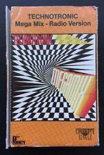 TECHNOTRONIC 'MEGA MIX RADIO VERSION' 1990 Cassingle Cassette Tape