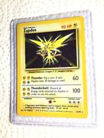 ZAPDOS - 16/102 - Base Set - Holo - Pokemon Card - EXC / NEAR MINT