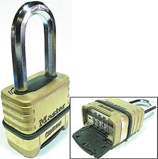 Combination Lock by Master 1175LH Resettable Brass $25 OR MORE FREE SHIPPING!!