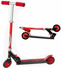 Scooter for Kids, Deluxe Kick Scooters 4 Adjustable Height 2 Wheels ChromeWheels