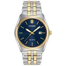 Citizen Eco-Drive Men's BM7334-58L Corso Blue Dial Two-Tone Band 44m Watch