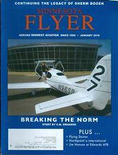2016 Minnesota Flyer Magazine: Breaking the Norm/N96SR/Flying Doctor/Jim Hanson