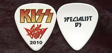 KISS 2010 Sonic Boom Tour Guitar Pick!!! SPECIALIST DS custom concert stage TECH