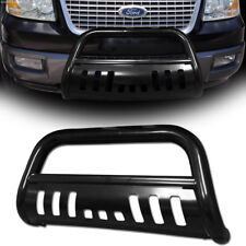 Black Heavyduty Bull Bar Push Bumper Grill Grille Guard 03+ Expedition/04+ F150