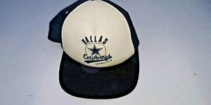 Dallas Cowboys Mitchell and Ness Vintage Series Adj Hat Cap W Tag (Shopworn)