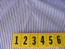Polycotton Fabric - Thin Lilac Stripe Print - 150cm Wide - New by Dcf