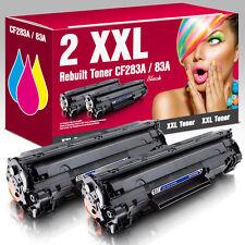 2 Toner für HP LaserJet Pro MFP M125nw M125rnw M126a M127fw M128fp CF283A 83A