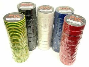 19mm PVC ELECTRICAL INSULATING TAPE FLAME RETARDANT COLOURED INSULATION TAPES