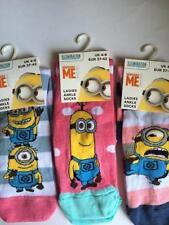 Cotton Blend Yes Novelty, Cartoon 2-3 Socks for Women