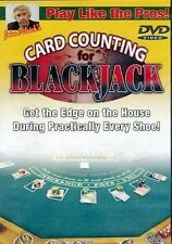 Learn to Play Like the Pros Card Counting for Blackjack DVD  Get the Edge  NEW