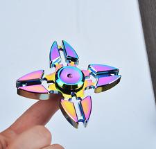 Fidget Spinner Multicolor Metal Hand Spinner EDC Fingertip Gyro Anti Stress Toys