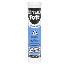 [1 Kartusche] Mehrzweckfett 400g K2K-30 Universalfett Schmierfett Fettpresse