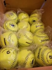 "3 Dozen=36 Brand New Demarini Lightning 12"" Inch Mens Slow Pitch Softballs USSSA"