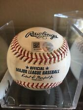 Javier Javy Baez Game Used Single Cubs