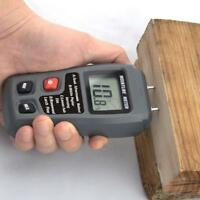 Digital LCD Wood Moisture Meter Humidity Tester Timber Damp Detector Hygrometer