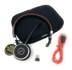 Jabra Evolve 65 MS Bluetooth Headset, Noise-canceling Technology - 6593-823-309