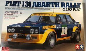 Tamiya 20069 N Gauge Building Kit 1/20 Fiat 131 Abarth Rally Olio Fiat