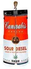 Odd Sox [Soup Can] SOCKS Calze cannabis sativa marijuana canapa Tattoo Ink Odd S