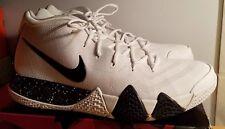 Nike Kyrie 4 TB Mens AV2296-100 White Black Team Bank Basketball Shoes Size 15