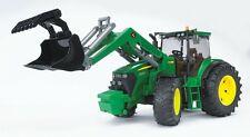 BRUDER 03051 - Tractor John Deere 7930 con Pala Cargadora, Nuevo/Emb.orig