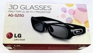 Gafas con obturador activo LG 3D para TV / proyector de plasma 3D   AG-S250