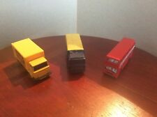 Matchbox superfast Hertz Dodge, Michelin Volvo and London bus
