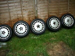 Volvo 960 V90 940 Alloy wheels and Tyres full set (Original multi spoke Alloys)
