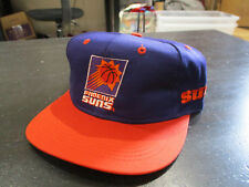 NEW VINTAGE Phoenix Suns Basketball Snap Back Hat Cap Purple Orange NBA 90s