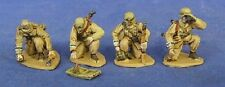 TQD GH37A 20mm Diecast WWII German Grenadiers-All w/Steel Hemets-Italy/N. Africa