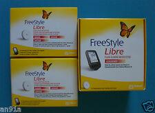 Freestyle Libre Messgeraet Lesegeraet + 2 Sensoren * HAENDLER ORIGINAL * NEU^OVP