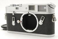 """CLA'd N MINT w/Case"" LEICA Leitz M4 Silver RANGEFINDER Film Camera From Japan"