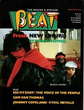 Black Uhuru on The Reggae & African Beat Magazine Cover 1986