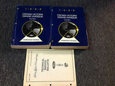 1999 Oem Ford Crown Victoria Mercury Grand Marquis Service Shop Repair Manual