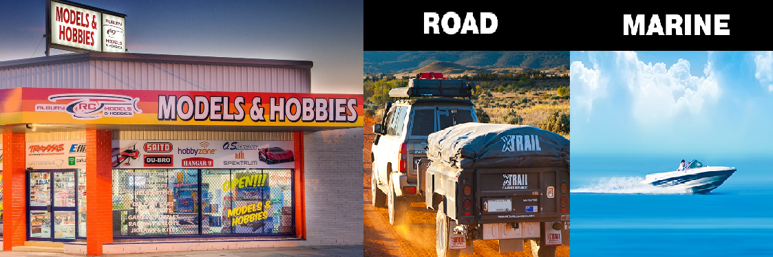Albury RC Models - Road & Marine