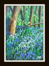 Original Impressionist Painting by Melanie Reynoso Parker : The Blue Bell Bank