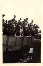 Deutsche Soldaten LKW Vormarsch Ostfront