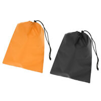 Pack Waterproof Travel Drawstring Storage Bag Laundry Shoes Pouch Stuff Sack