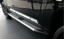 Fit 2011-2016 Jeep Compass ABS Chrome Body Side Door Molding Cover Trim Decor