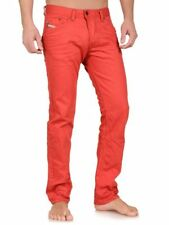 Diesel Herren Jeans Darron 008QU Red Slim Tapered W33 L30