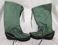 LaCROSSE FOOTWEAR Cold Weather Boots, Green Denim Shell Rubber Soles, LRG or MED