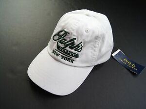 POLO RALPH LAUREN Men's Limited Edition Ralph's Coffee New York Baseball Cap NWT