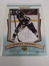 Sidney Crosby 2007-08 UD MVP Super Scripts /25 Penguins