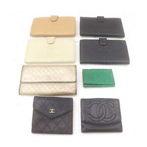 Chanel Leather Wallet Key Case 8 pieces set 523147