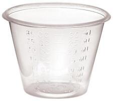 Medicine Cups 1 oz Plastic Graduated LOT OF 500-Free Shipping