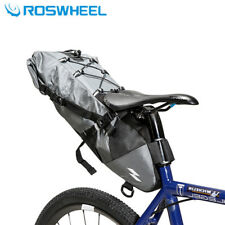 10L Mountain Bike Bags Rear Seat Saddle Bags  Bicycle Full Waterproof Pannier
