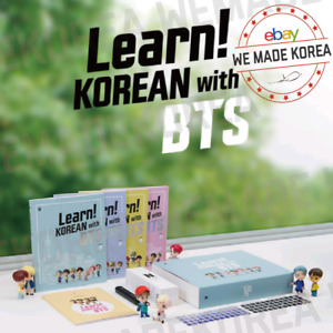 Learn! KOREAN with BTS Book Package Official MD + Expedited Shipping