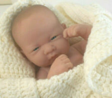Berenguer Reborn Baby Girl w blue eyes-Sweet newborn doll-signed ~ 2106